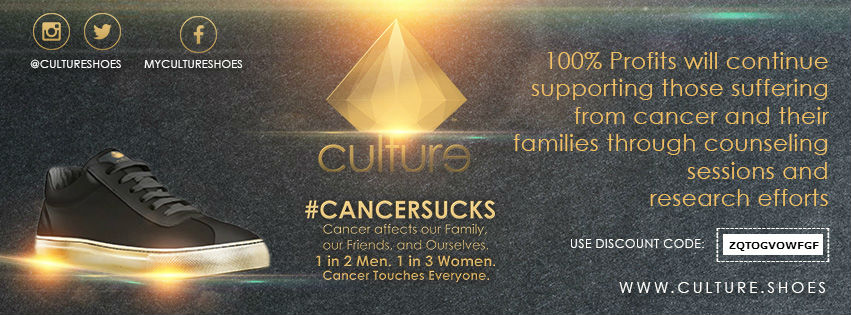 Culture Shoes Releases The #CancerSucks Edition Sneaker